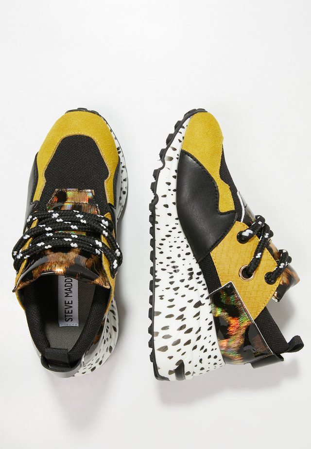 Sneakers laag - yellow multi