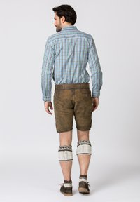 Stockerpoint - Shorts - brown - 1