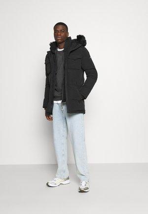 2 PCK CREW CHAR BURG - Sweater - dark grey