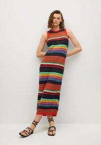 Mango - COLORI - Pouzdrové šaty - rouge - 1