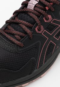 ASICS - SCOUT - Løbesko trail - black/dried rose - 3