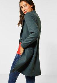 Street One - Classic coat - grün - 2
