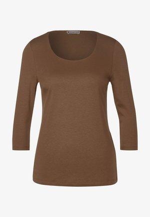 PANIA - Long sleeved top - beige