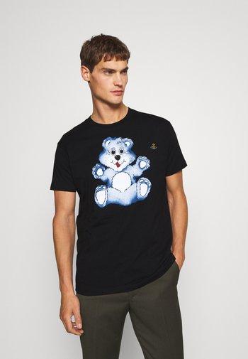 TEDDY CLASSIC  - T-shirt imprimé - black