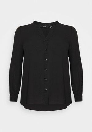 VMISABELLA NORMAL SHIRT CURVE - Blouse - black