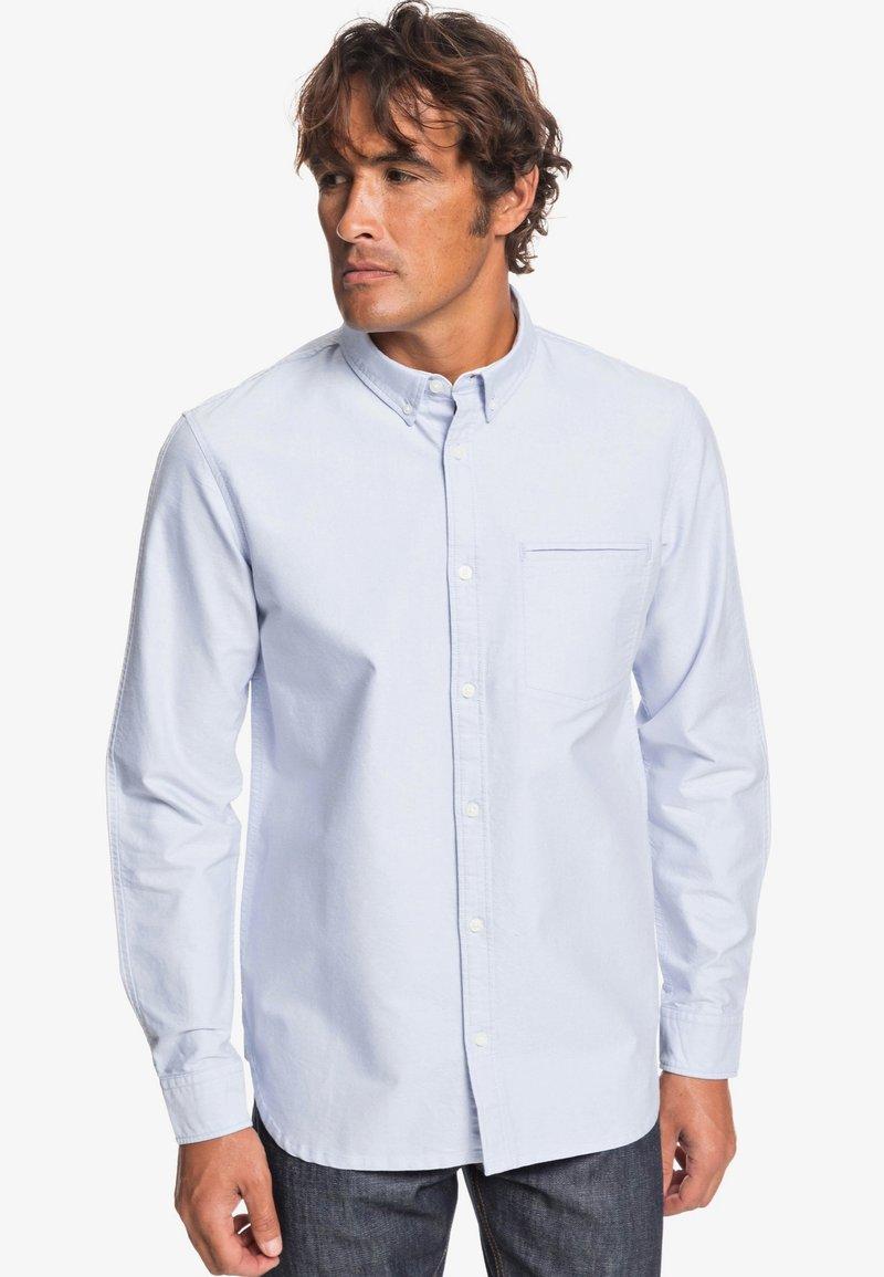 Quiksilver - LONG SLEEVED - Shirt - light blue