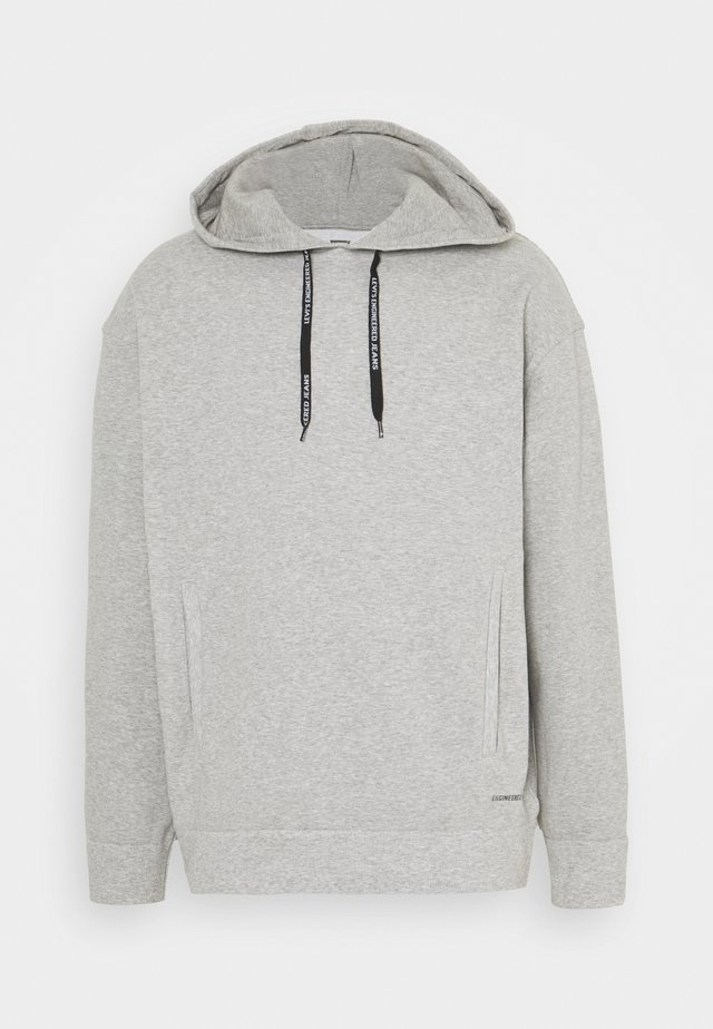 Hoodie - heather grey
