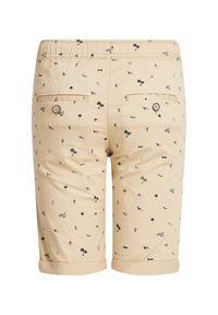 WE Fashion - MET PRINT - Shorts - beige - 1