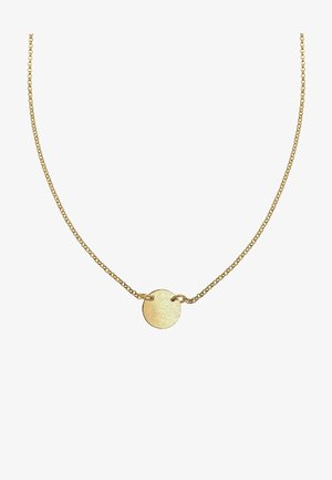 PLATE BASIC - Collar - gold-coloured