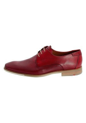 SCHNÜRSCHUHE FELTON - Smart lace-ups - red