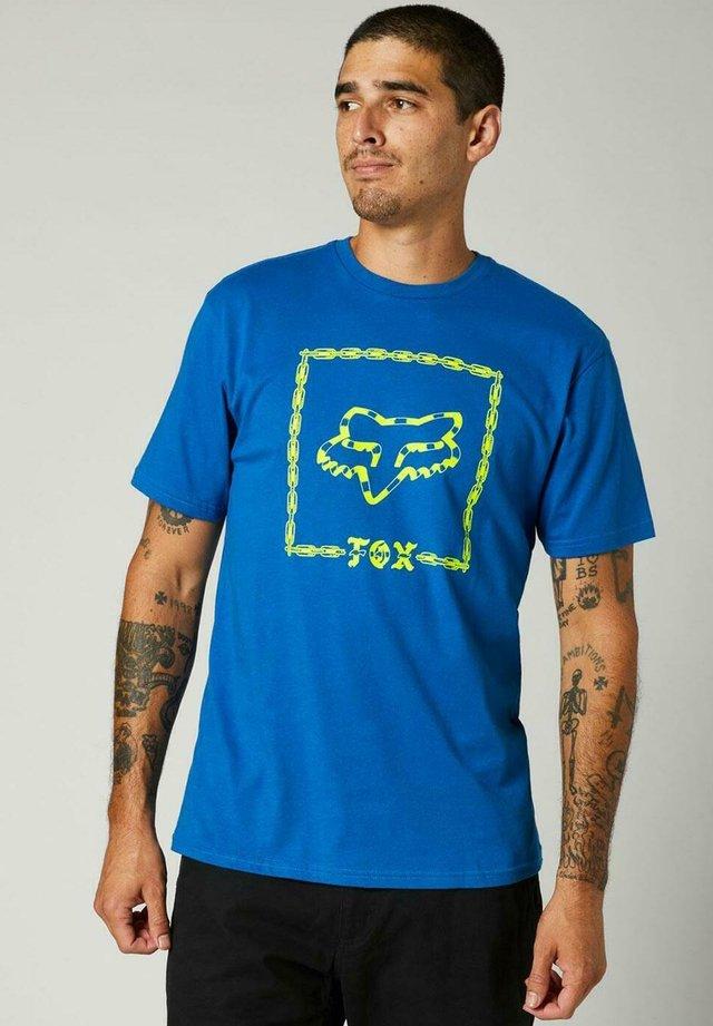 CELL BLOCK - Camiseta estampada - royal blue