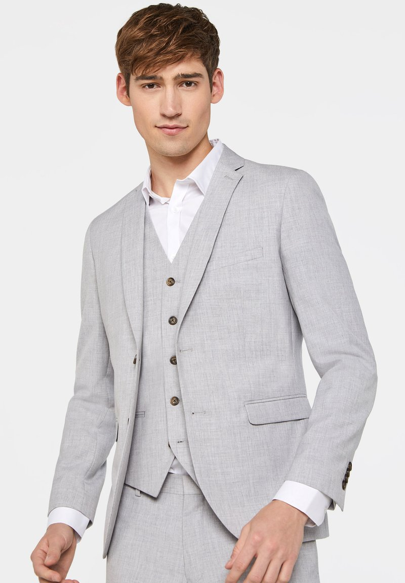 WE Fashion - DALI - Marynarka garniturowa - light grey
