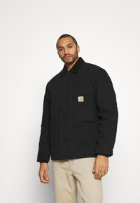 Carhartt WIP - ARCTIC COAT DEARBORN - Light jacket - black - 0