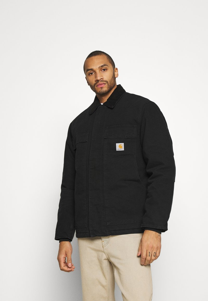 Carhartt WIP - ARCTIC COAT DEARBORN - Light jacket - black