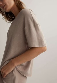 OYSHO - Pyjama top - beige - 3