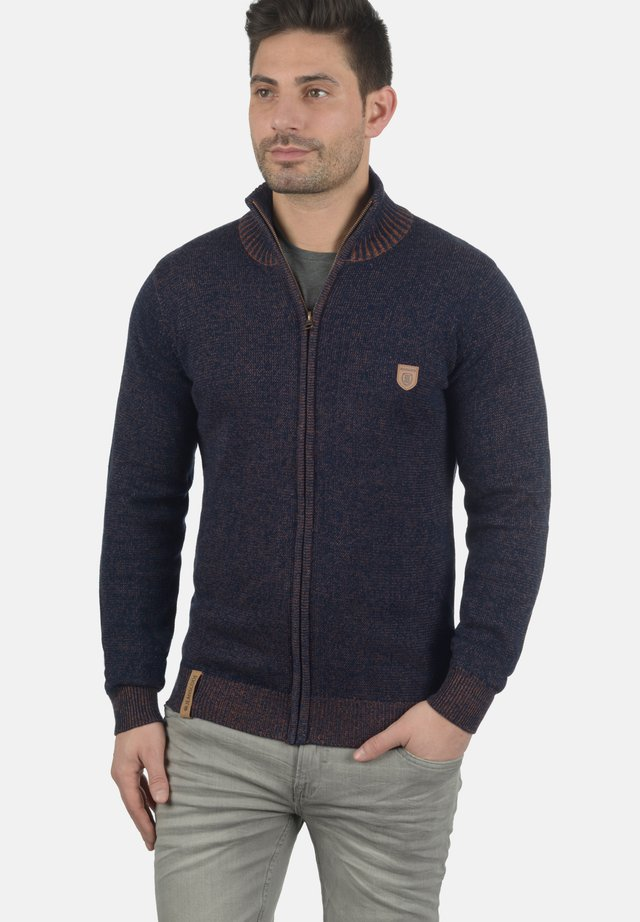 STRICKJACKE ANDY - Cardigan - navy