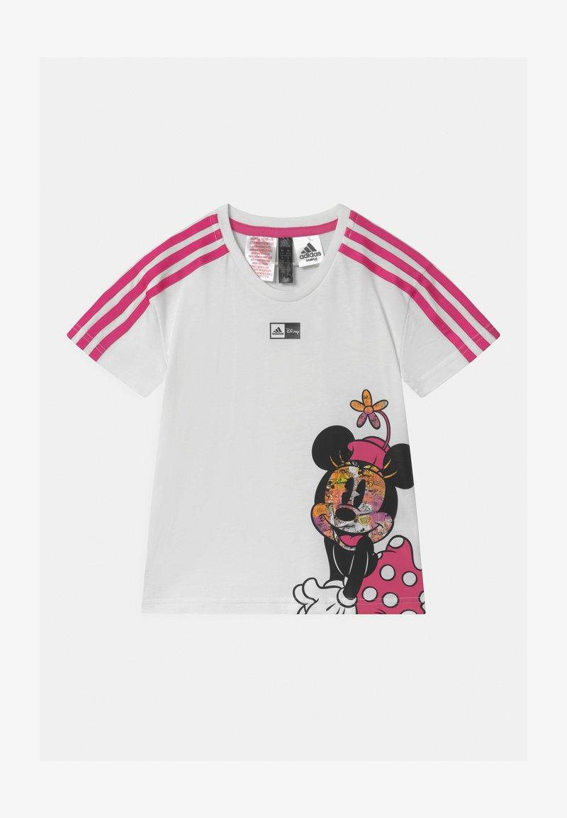 adidas Performance - UNISEX - Triko spotiskem - white/pink