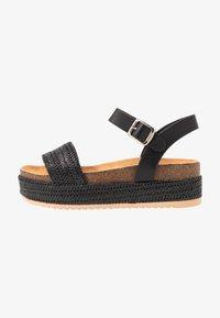 mtng - PERLA - Platform sandals - black - 1