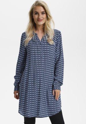 KAMARANA  - Shirt dress - midnight marine