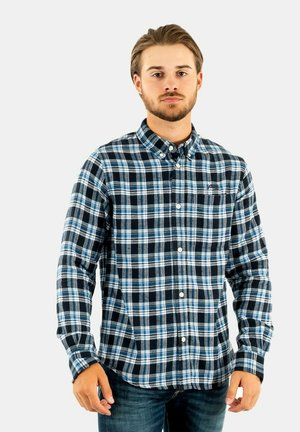 SHCAMERON - Overhemd - blue/black