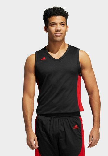N3XT PREMIUM JERS BASKETBALL TEAM AEROREADY PRIMEGREEN SLEEVELESS JERSEY - Top - black