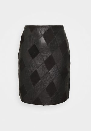 YASLYLA SKIRT - Miniskjørt - black