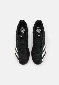 adidas Performance - PREDATOR 20.4 FOOTBALL SHOES INDOOR - Botas de fútbol sin tacos - core black/footwear white - 3