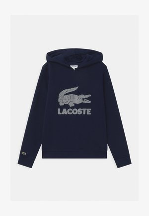 LOGO UNISEX - Bluza z kapturem - marine