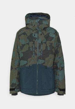 Snowboard jacket - forest night