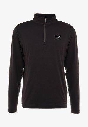 NEWPORT HALF ZIP - Sportshirt - black