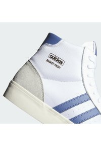 adidas Originals - BASKET PROFI VULCANIZED SHOES - Korkeavartiset tennarit - ftwr white/cream white/crew blue - 6