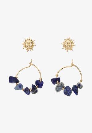 2-PACK - Earrings - blau