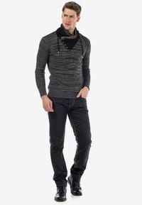 Cipo & Baxx - Straight leg jeans - black - 1
