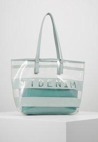 TOM TAILOR DENIM - LINARES SET - Tote bag - mint - 0