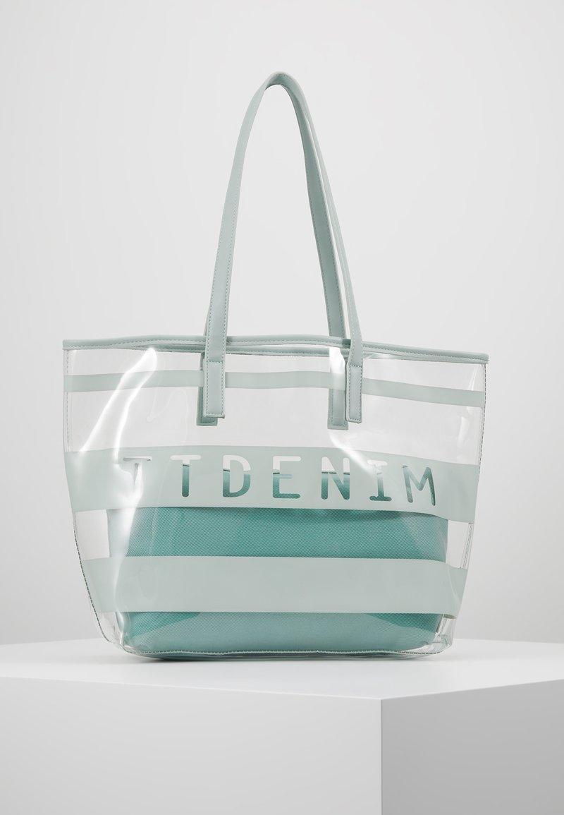 TOM TAILOR DENIM - LINARES SET - Tote bag - mint
