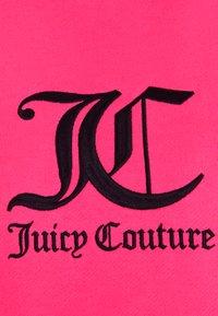 Juicy Couture - QUEENIE - Jersey con capucha - fluro pink - 2