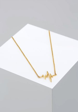 HERZSCHLAG - Necklace - gold-coloured