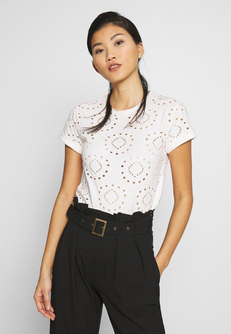 Anna Field - T-shirts med print - white