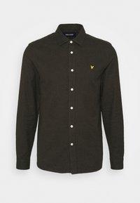 Lyle & Scott - Shirt - trek green/jet black - 4
