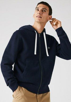 Zip-up hoodie - navy blau