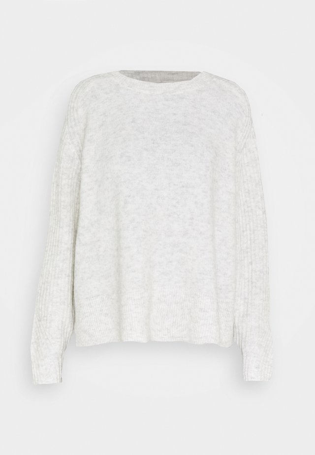 ANA - Strickpullover - light grey melange