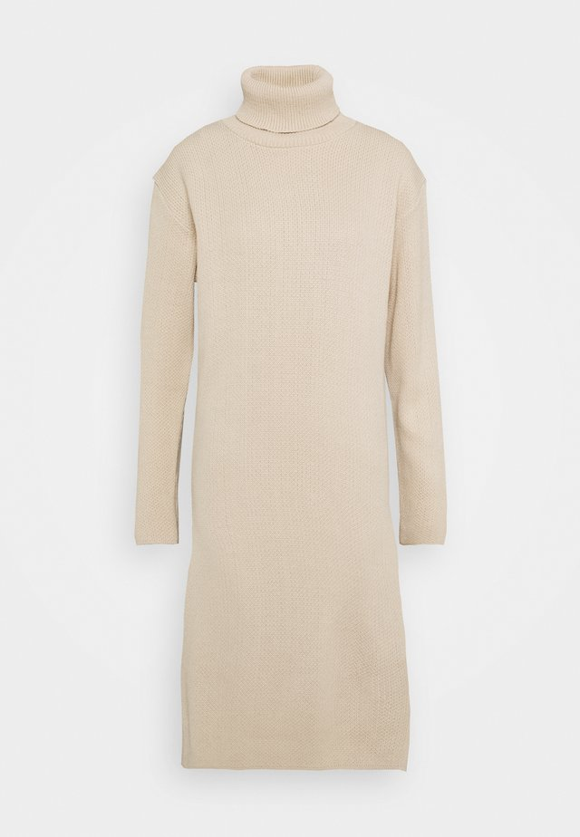 MIDI DRESS - Jumper dress - ecru