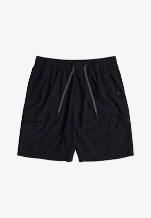 Outdoorové kraťasy - black