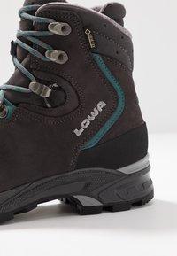 Lowa - MAURIA GTX - Chaussures de marche - anthrazit/petrol - 5