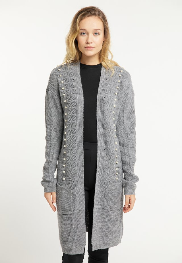 Gilet - dark grey melange