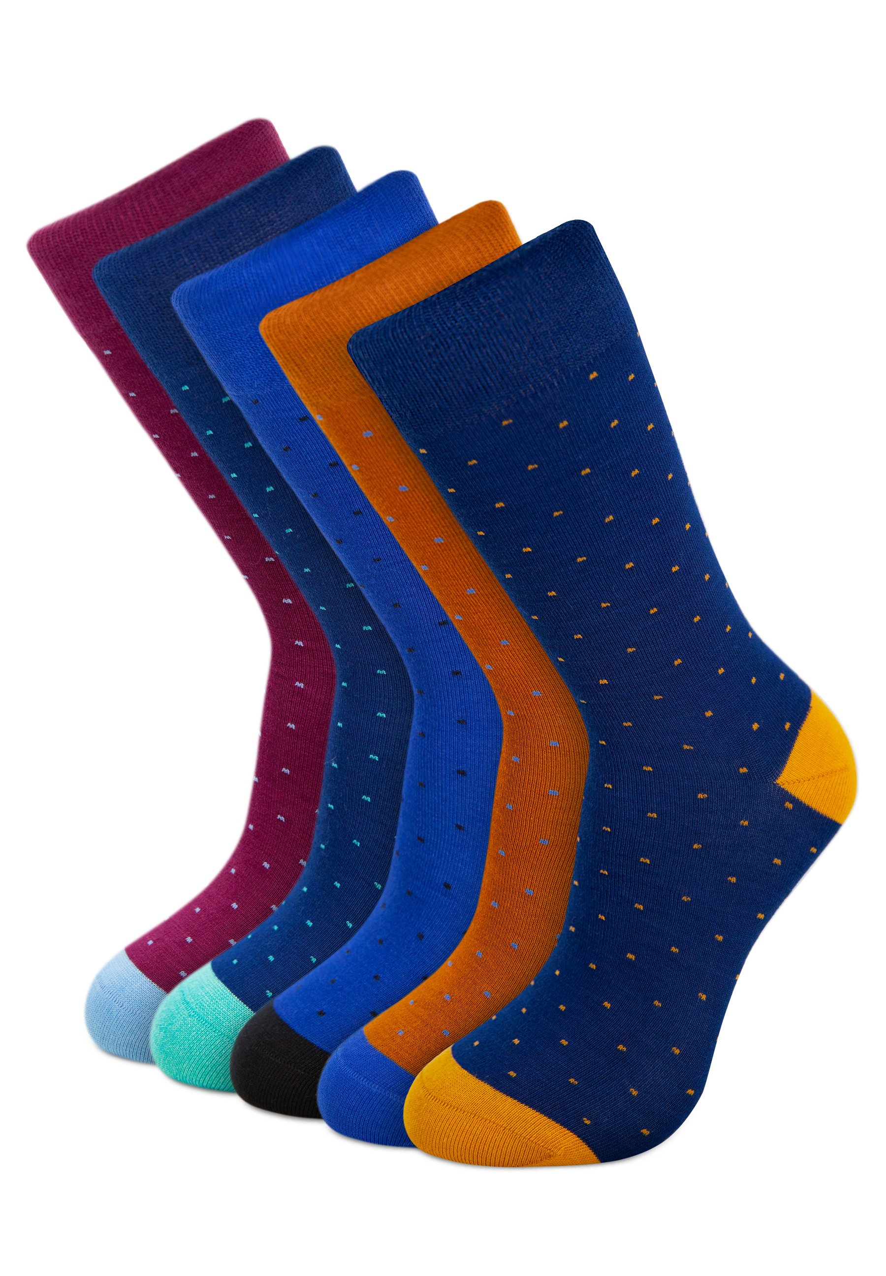 Uomo DOTS EDITION BAMBOO 5 PACK - Calze