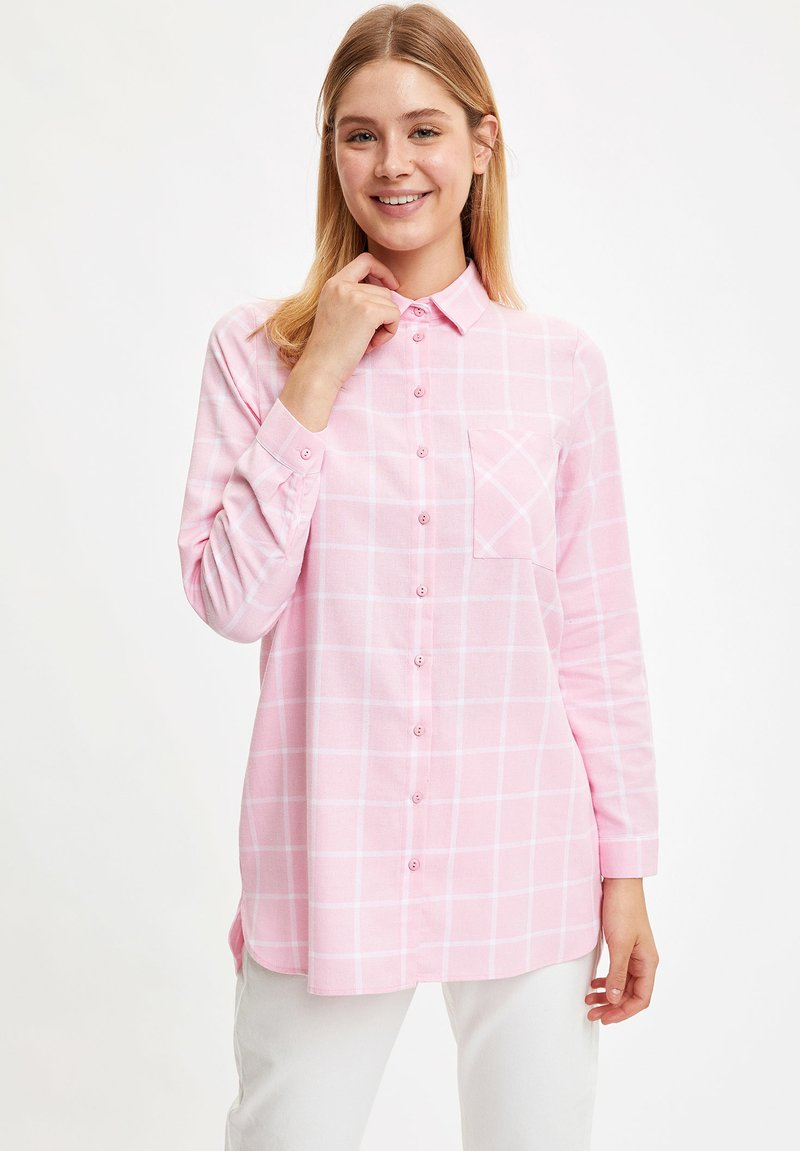 DeFacto - Button-down blouse - pink