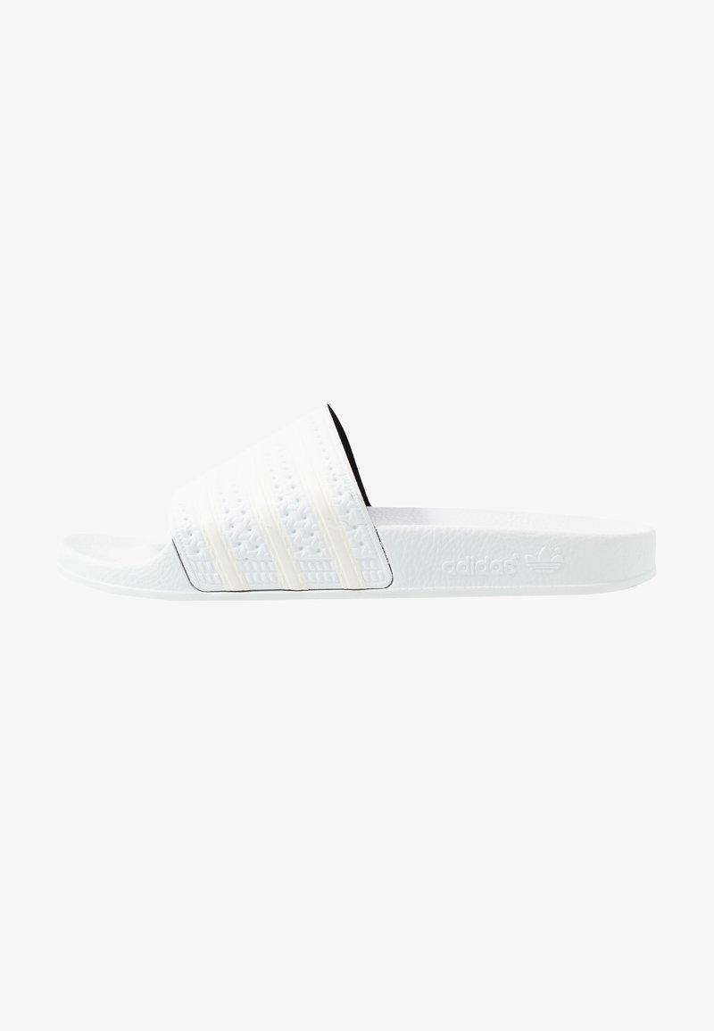 adidas Originals - ADILETTE - Mules - footwear white/offwhite
