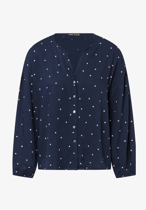 HEARTS - Pyjama top - dark blue