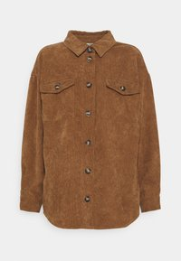 SAVISA - Button-down blouse - camel